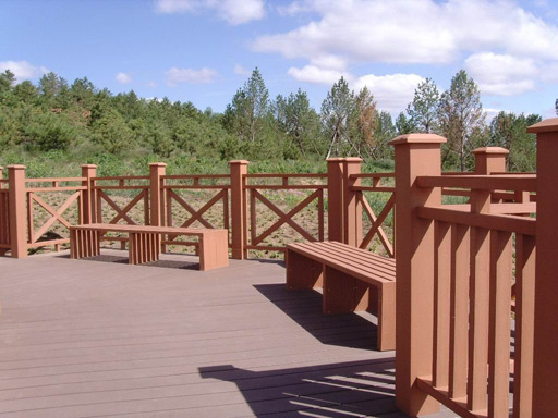 Outdoor Fence Railing